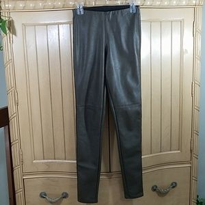 H&M Divided Polyurethane Skinnies, sz 6